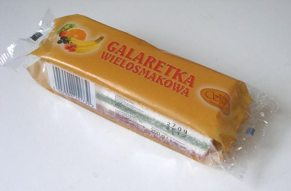 Galaretka Wielosmakowa Blok 250g